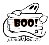 Universal image for boo grams printable