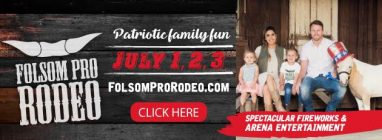 Folsom rodeo banner