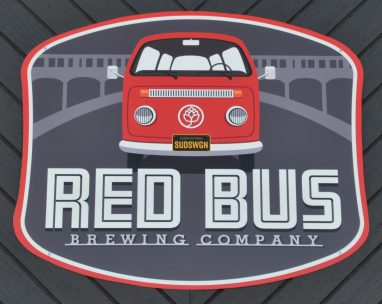 red bus logo