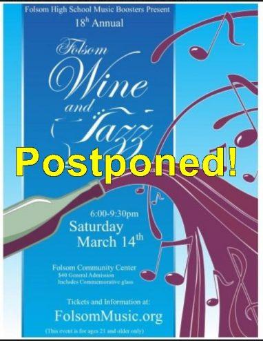 wine and jazz postponed